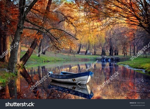 Fall Landscape Autumn Nature