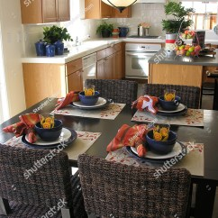Colorful Kitchen Table Countertops Types With In The Background