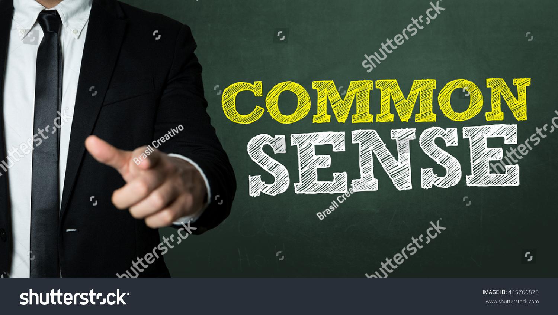 Common Sense Stock Photo 445766875 : Shutterstock