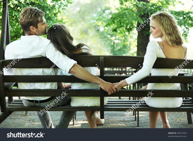 Conceptual Photo Of A Marital Infidelity - 78516709 : Shutterstock