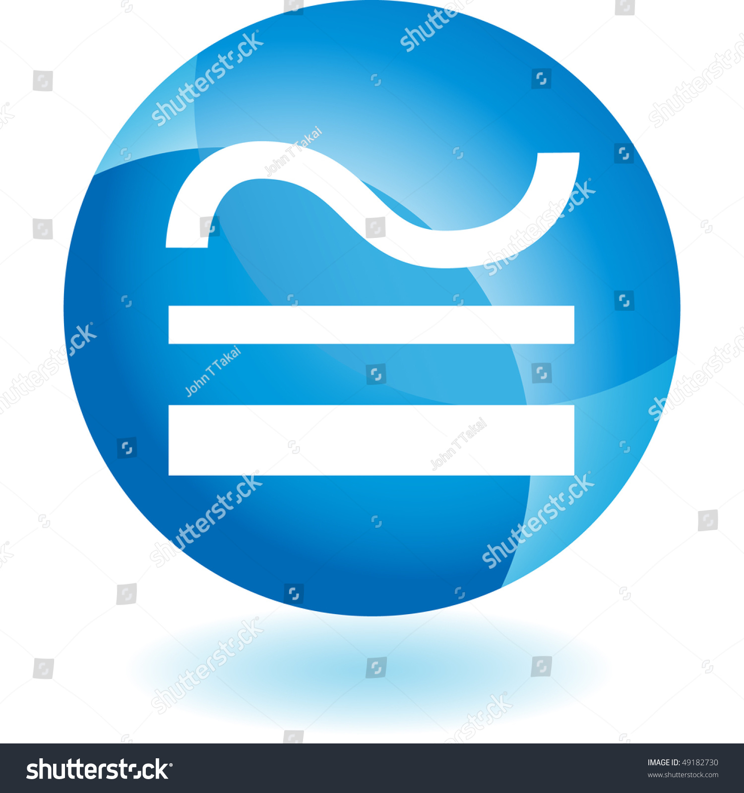Congruence Symbol Stock Photo 49182730 : Shutterstock
