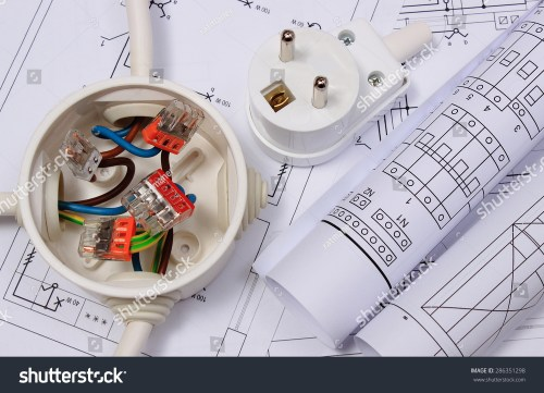 small resolution of copper wire connections in electrical box rolls of electrical diagrams and electric plug on construction