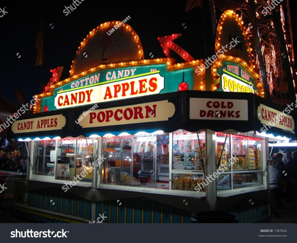 Cotton Candy And Refreshment Stand Stock 1987844 Shutterstock