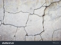 Cracked Concrete Wall Texture Background Stock Photo ...