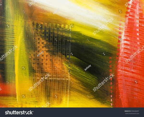 Creative Abstract Painting in Acrylic