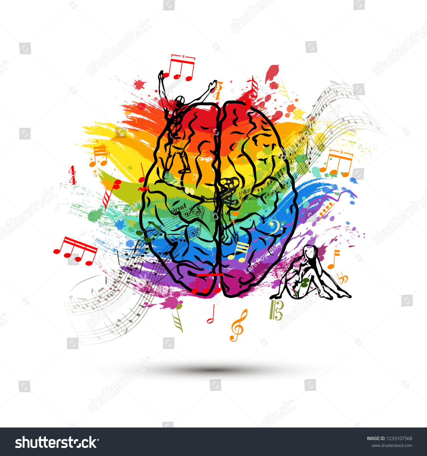 left side brain functions diagram starter motor wiring motorcycle creative human top view stock illustration royalty free in of concept on white