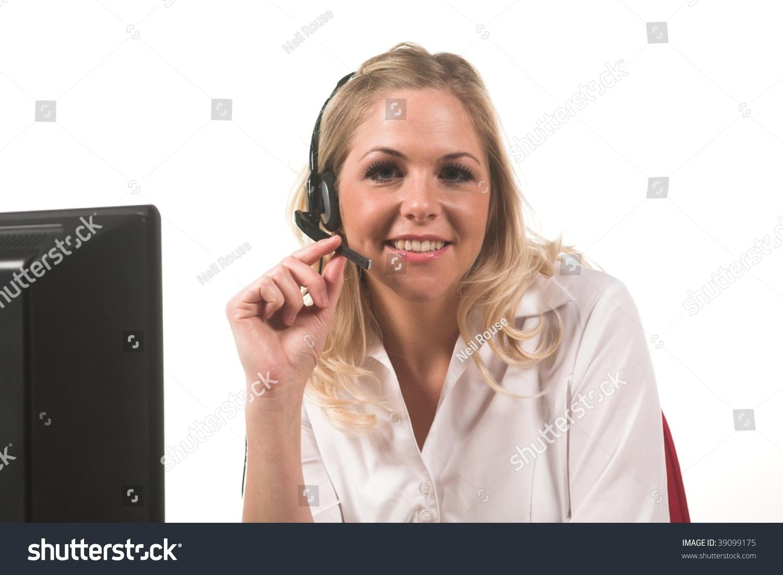Customer Service Advisor Stock Photo 39099175  Shutterstock