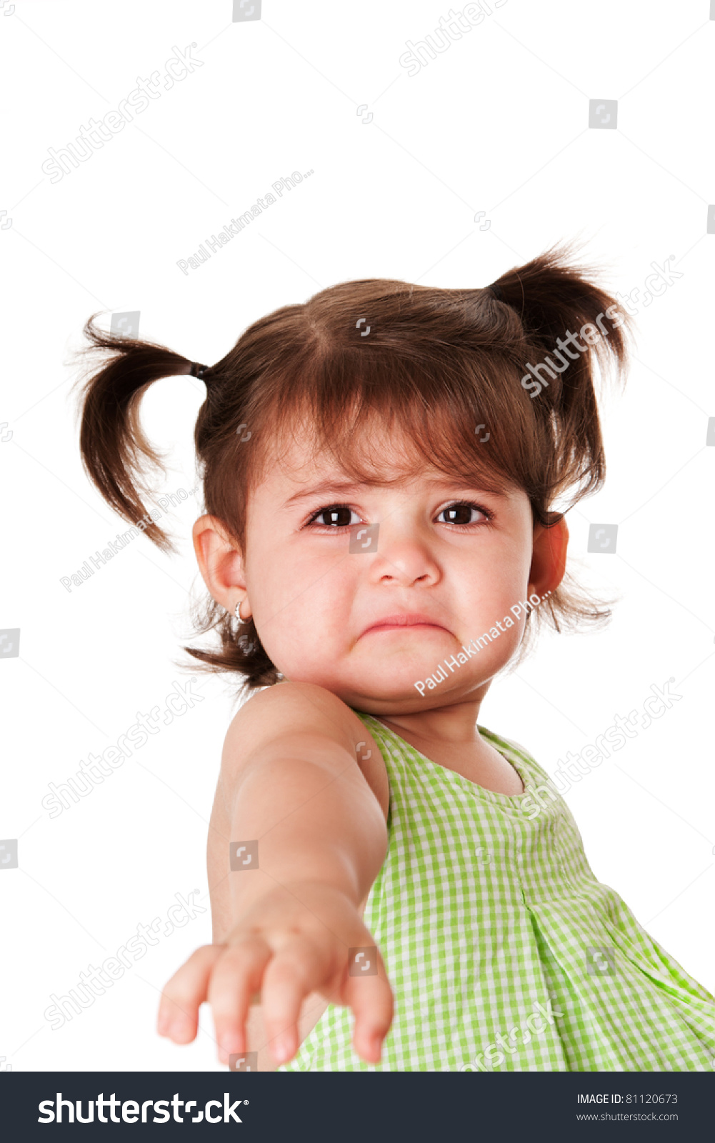 Sad Baby Girl Photo : photo, Toddler, Young, Little, Stock, Photo, (Edit, 81120673