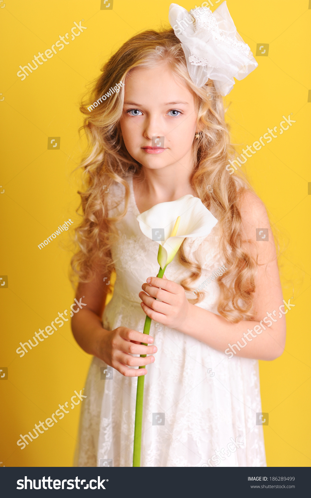 Cute Kid Girl 1012 Year Old Stock Photo 186289499 - Shutterstock
