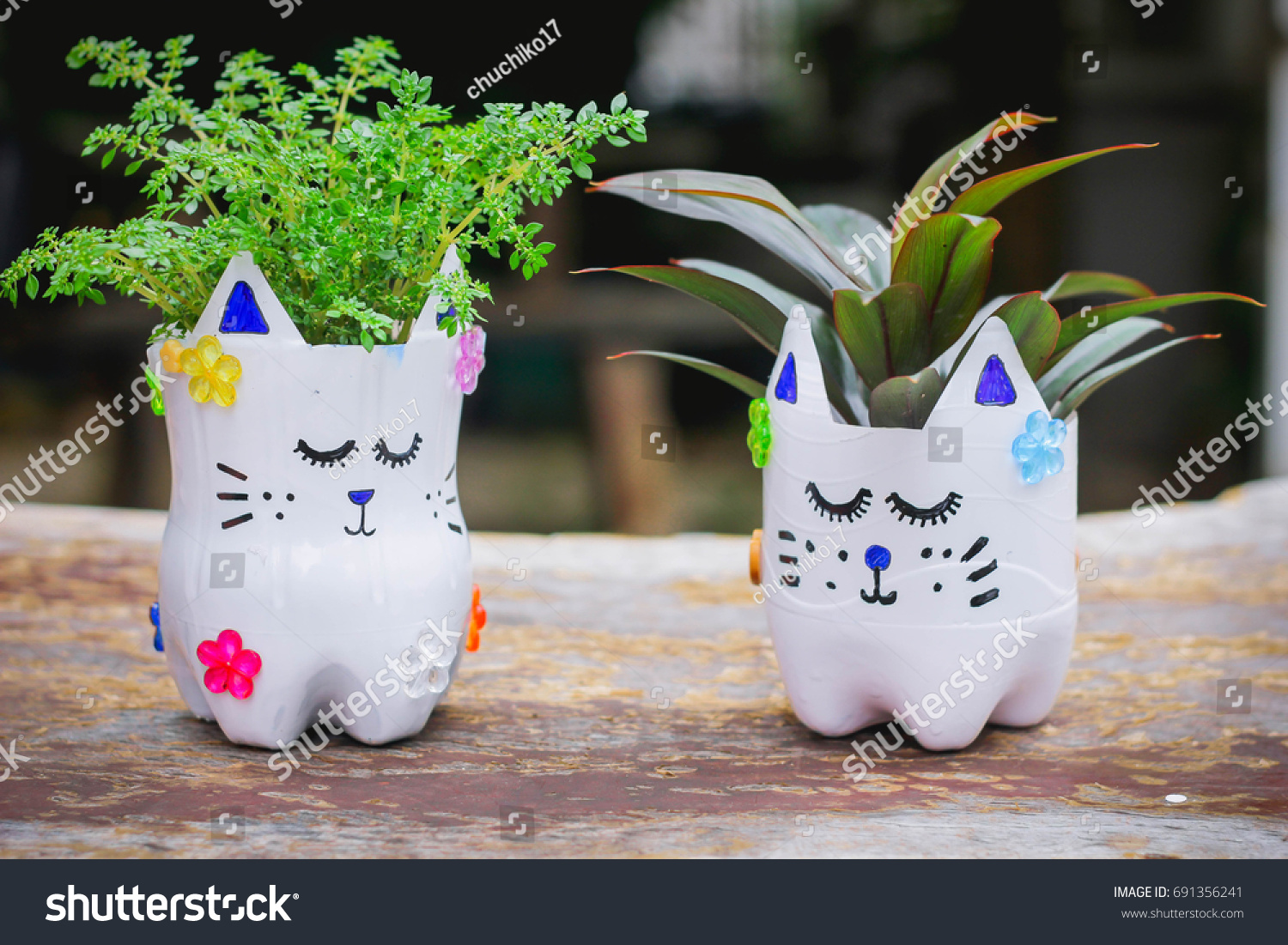 Doing crafts with your kids can help develop their coordination, improve visual processing abilities, hone fine motor skills in the smallest kids, and allow children of all ages to express themselv. Diy Plastic Bottle Craft Kidscrafts Kids Stock Photo Edit Now 691356241
