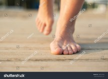 Barefoot Women Feet Beach