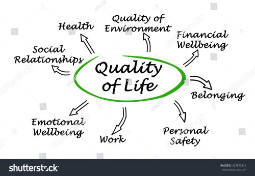 small resolution of diagram of quality of life