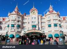 Disneyland Paris November 22 2015 Stock