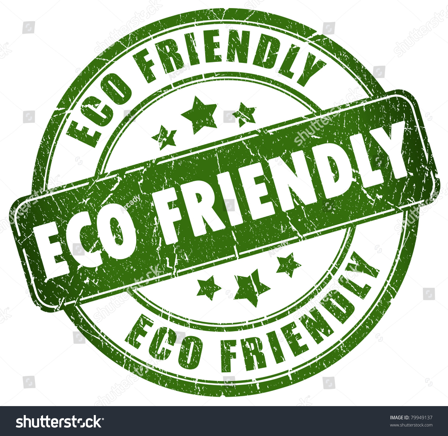Eco Friendly Stamp Stock Photo 79949137 : Shutterstock