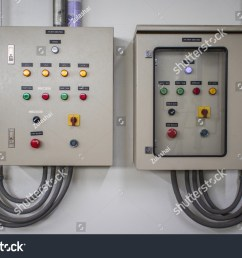 electric control panel cabinets with the many color buttons for controller the electrical system circuit is  [ 1500 x 1084 Pixel ]