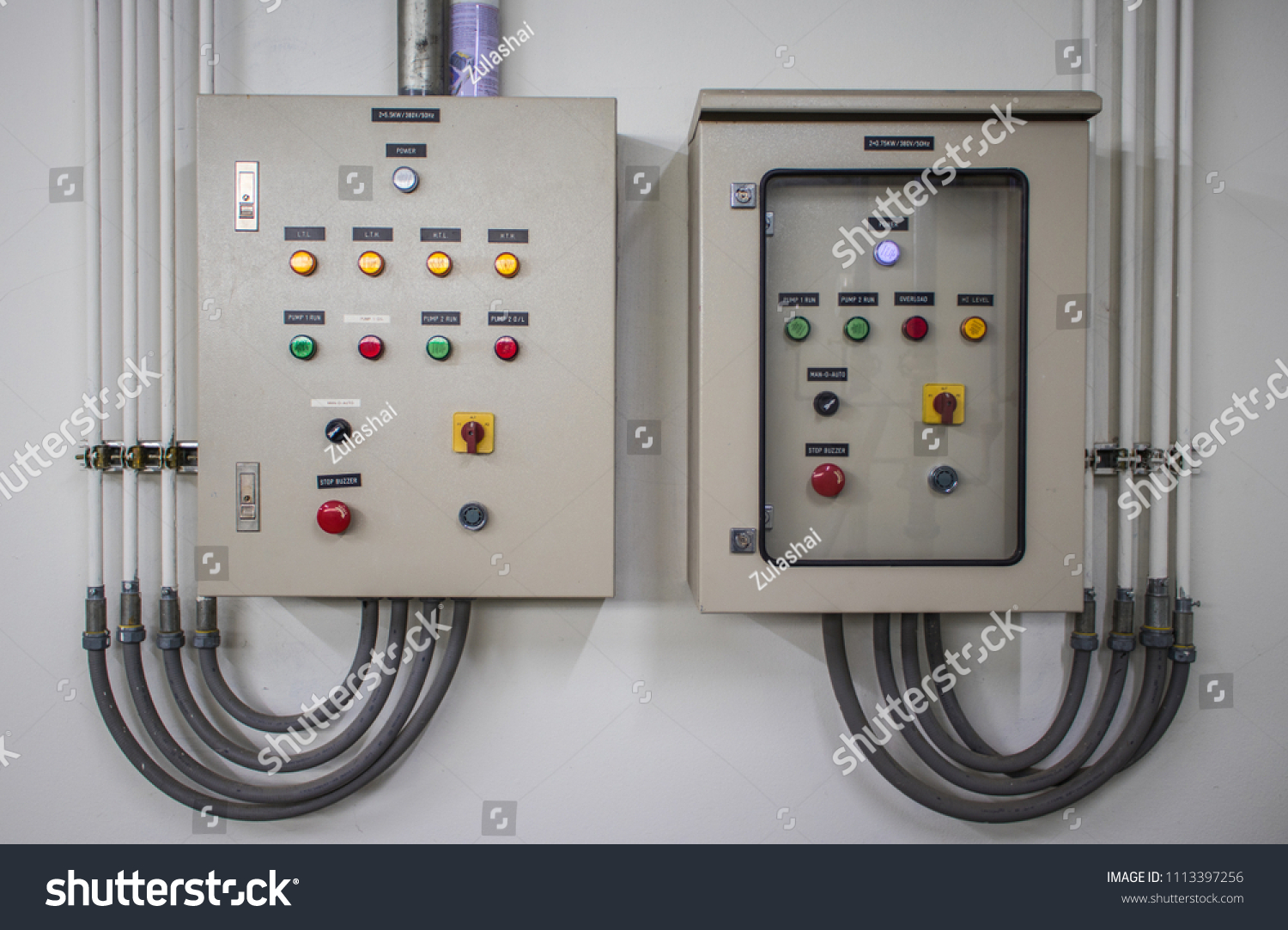 hight resolution of electric control panel cabinets with the many color buttons for controller the electrical system circuit is