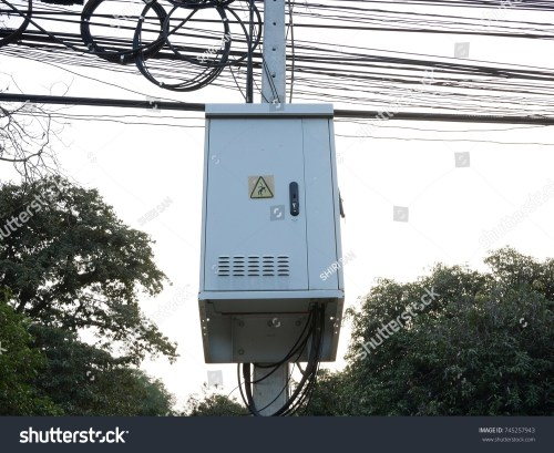 small resolution of electric pole and transformers box
