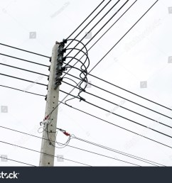 electric pole connect to the high voltage electric wires  [ 1500 x 1101 Pixel ]