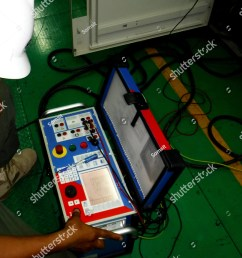 electrical preventive maintenance on site current transformer and potential transformer testing [ 1160 x 1600 Pixel ]
