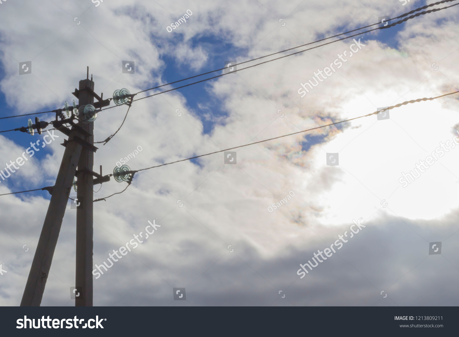 hight resolution of electrical support for wires