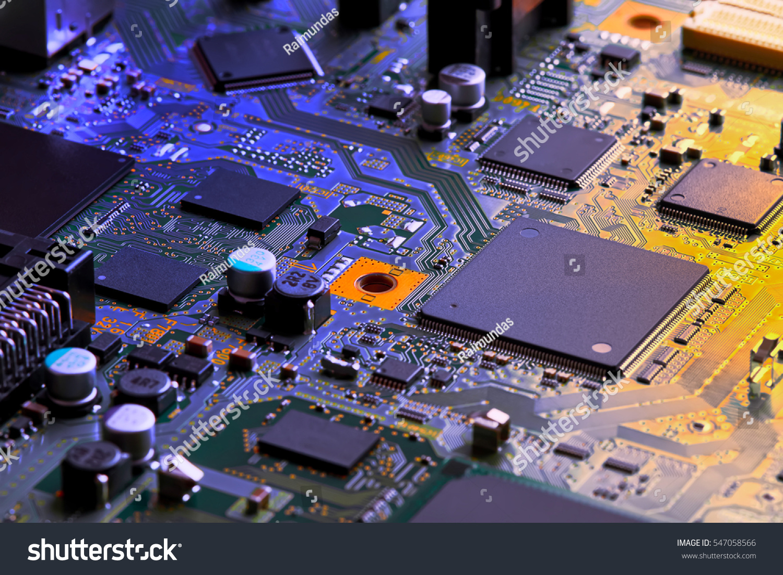 Electronic Circuit Board Stock Photos Image 5268093