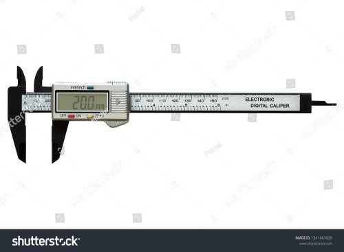 small resolution of electronic digital vernier calipers isolated on white background