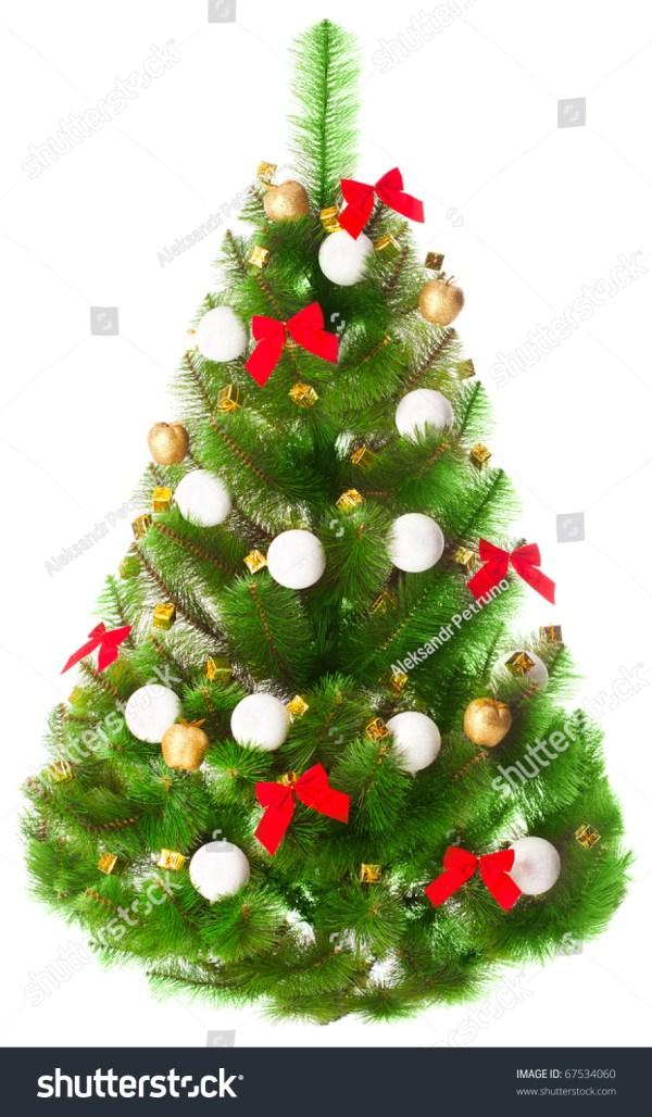 Elegant White Christmas Tree