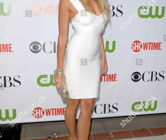 Elle Macpherson At The Cbs Cw And Showtime All Star Party Huntington Library