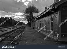 Elva Railway Station Tartu County Estonia Stock