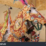 Embroidery Used Make Horse Costume Parade Stock Photo Edit Now 1276834894