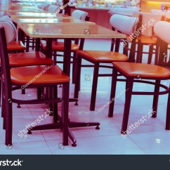Coffee Shop Chairs Chair Rentals Long Beach Ca Empty Tables Stock Photo 532480795