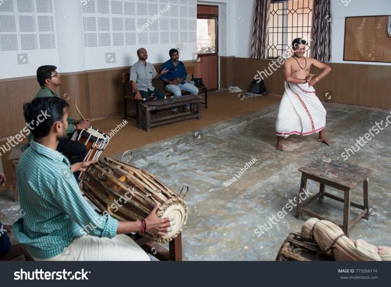 ernakulam india january 19 2016 kathakali stock photo (edit now