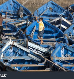 essaouira morocco august 02 2013 boys stand amongst docked fishing boats in [ 1500 x 1042 Pixel ]