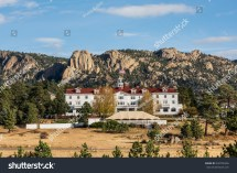 Estes Park Colorado Usa October 18 2015 Historic