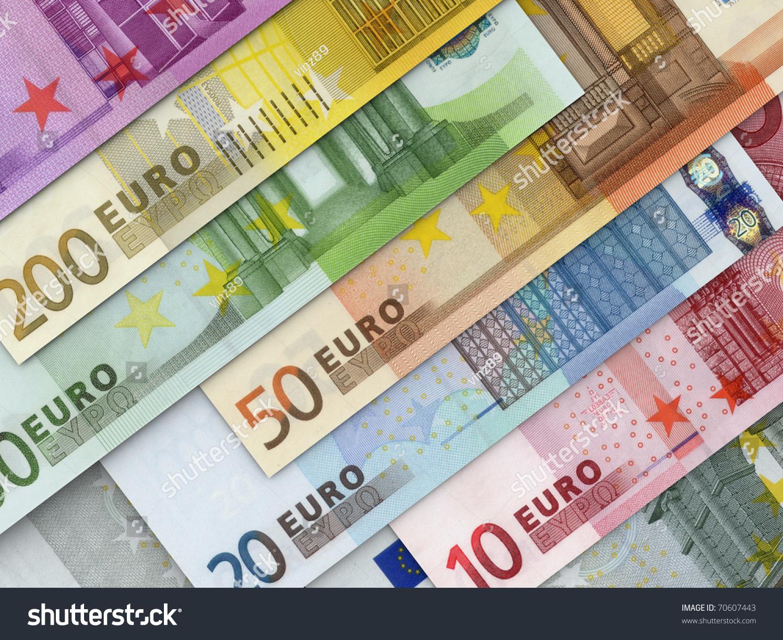 Euro Money Stock Illustration
