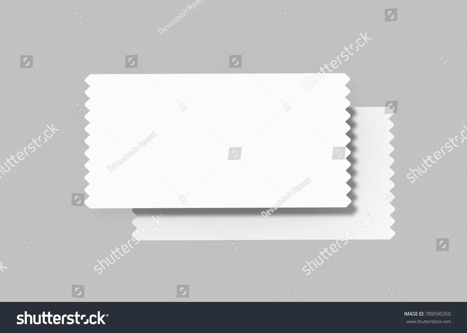Event Ticket Movie Ticket Template On Stock Illustration 789590350 ...