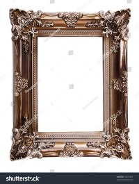 Fancy Picture Frame Stock Photo 54431881 : Shutterstock