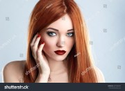 fashion beauty model woman long