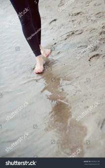 Water Feet in Barefoot Beach