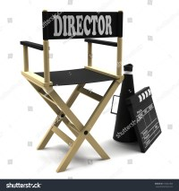 Film Industry Directors Chair Retro Megaphone Stock ...