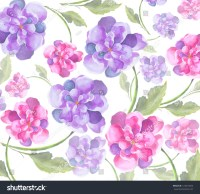 Flower Watercolor Original Elegant Colorful Art Wall Paper ...