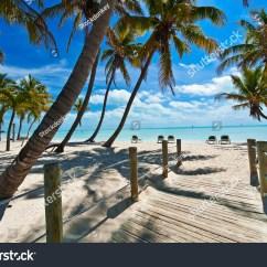 Key West Hammock Chairs Office Chair Ebay Footbridge Beach Stock Photo 153029399 - Shutterstock