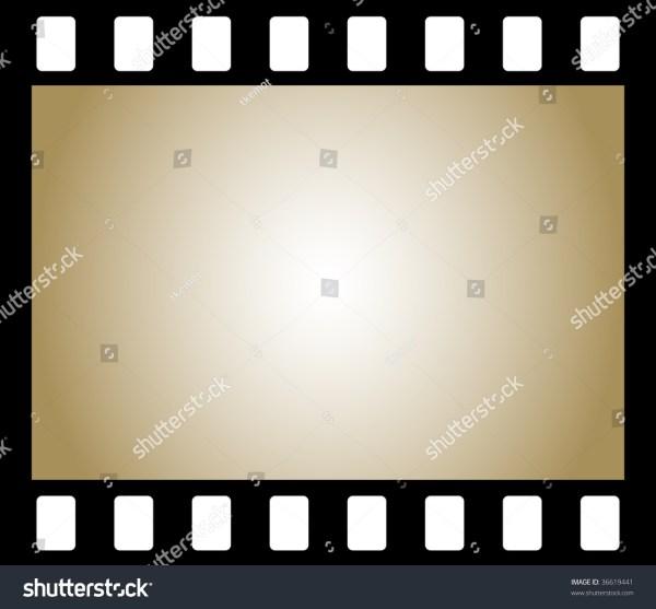 Frame Negative Film Background Stock