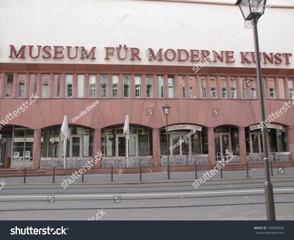 Frankfurt Main Germany - June 03 2013 Museum