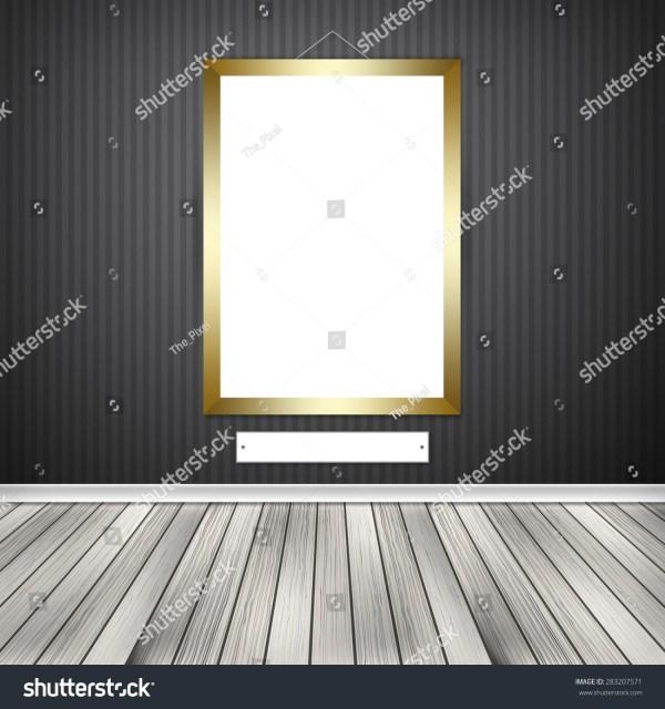 Interior Empty Frame Stock Illustration