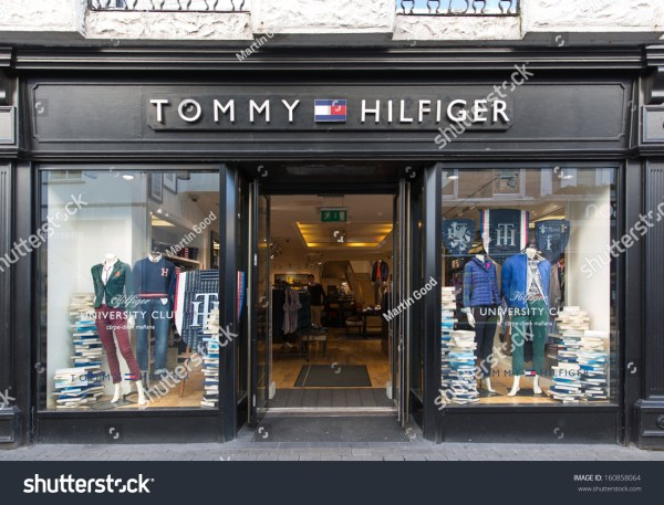Galway Ireland October 24 Tommy Hilfiger Stock