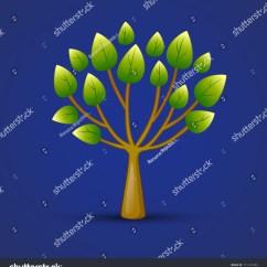 Shrub Graphic Symbols Diagram Wiring For 7 Way Trailer Connector Tree Web Icon Design Nature Symbol Stock Photo