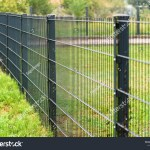 Grating Wire Industrial Fence Panels Pvc Stock Photo Edit Now 1476775751