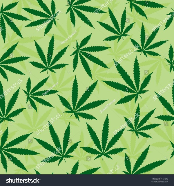 Trippy Pot Leaf Coloring Pages