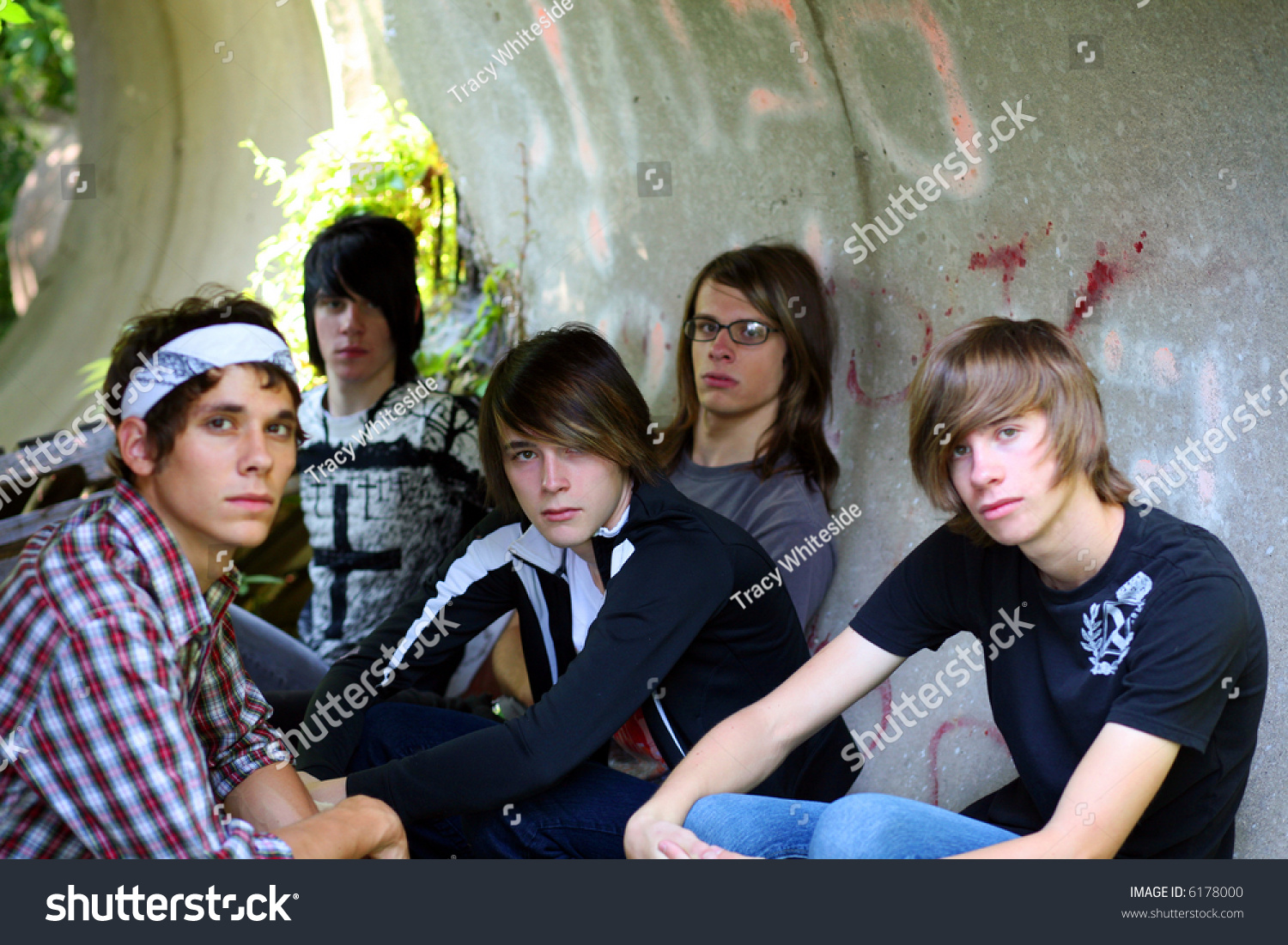 Group Of Teen Boys Hanging Out Stock Photo 6178000 : Shutterstock